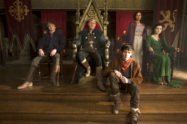 merlin set to cast a spell over audiences at comiccon