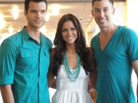 """AJ Gibson, Kari Gibson and Ryan Carillo of """"Expedition Impossible"""""""