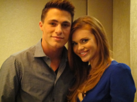 """Colton Haynes and Holland Roden of """"Teen Wolf"""""""
