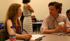 "Interviewing Matt Smith of ""Doctor Who"" - dreams do come true!"