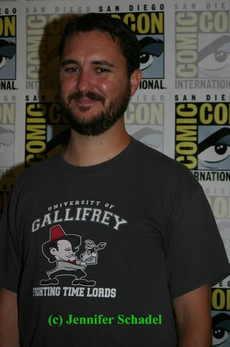 "Wil Wheaton of ""Eureka"""