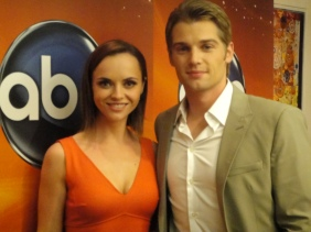 "Christina Ricci and Mike Vogel of ""Pan Am"""