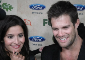 Mercedes Masohn and Geoff Stults