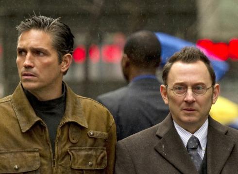 Jim Caviezel and Michael Emerson
