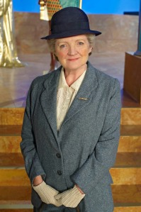 Agatha Christie's Miss Marple (played by Julia McKenzie)