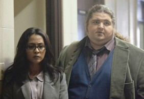 Lucy and Doc Soto (portrayed by Parminder Nagra and Jorge Garcia)