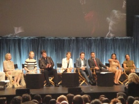 "Cast of ""Castle"" at PaleyFest"