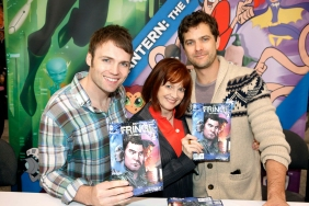 Seth Gabel, Blair Brown and Josh Jackson (©2012 Warner Bros. Entertainment, Inc. All Rights Reserved.)