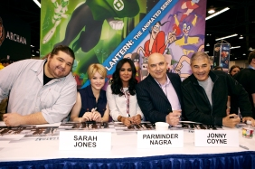"""Alcatraz"" cast at WonderCon (©2012 Warner Bros. Entertainment, Inc. All Rights Reserved.)"