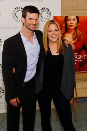 Fred Weller and Mary McCormack (Photo credit: Trae Patton)