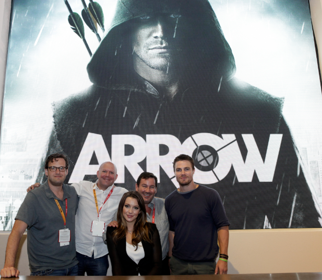 """""""Arrow"""" (© 2012 Warner Bros. Entertainment, Inc. All Rights Reserved.)"""