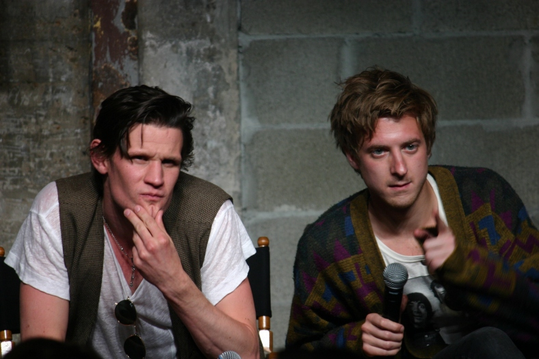 Matt Smith and Arthur Darvill (photo credit: Jennifer Schadel)