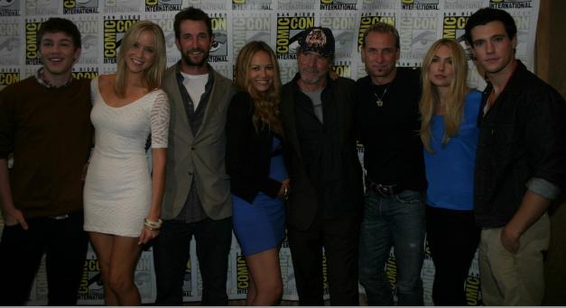 "Cast of ""Falling Skies"" (photo credit: Jennifer Schadel)"