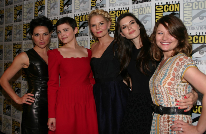 """Cast of """"Once Upon A Time"""" (photo credit: Jennifer Schadel)"""