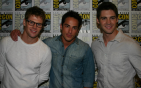 Zach Roerig, Michael Trevino, Steven R. McQueen (photo credit: Jennifer Schadel)