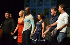 "Cast of ""Fringe"" (photo credit: Genevieve Collins)"