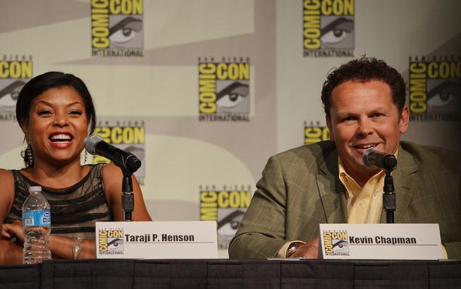 Taraji Henson and Kevin Chapman  (photo credit: Genevieve Collins)