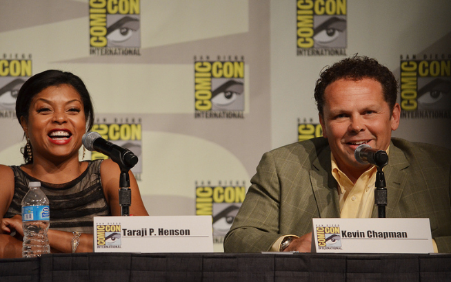 Taraji Henson and Kevin Chapman  (photo credit: Genevieve Collins)