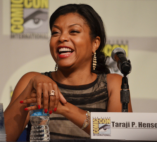 Taraji Henson  (photo credit: Genevieve Collins)