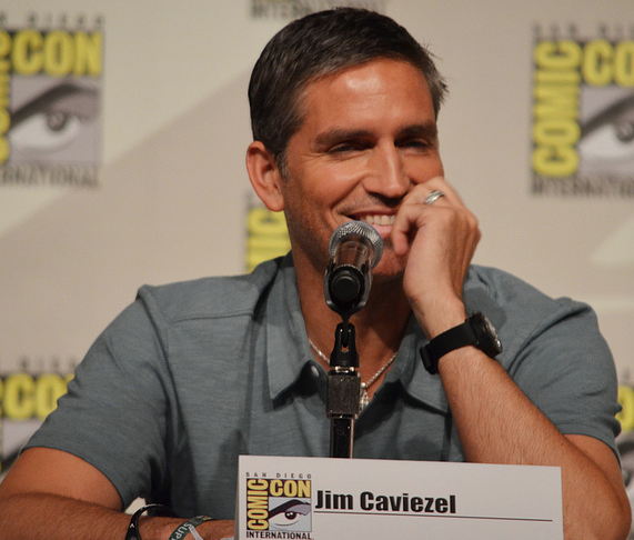 Jim Caviezel  (photo credit: Genevieve Collins)