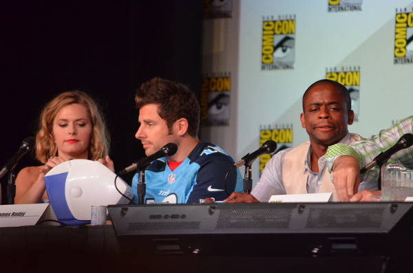 "Cast of ""Psych"" (photo credit: Genevieve Collins)"