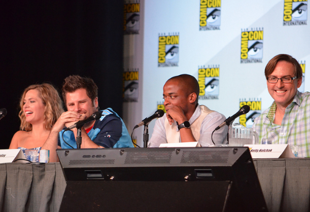 """Cast of """"Psych"""" (photo credit: Genevieve Collins)"""