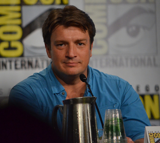 Nathan Fillion  (photo credit: Genevieve Collins)