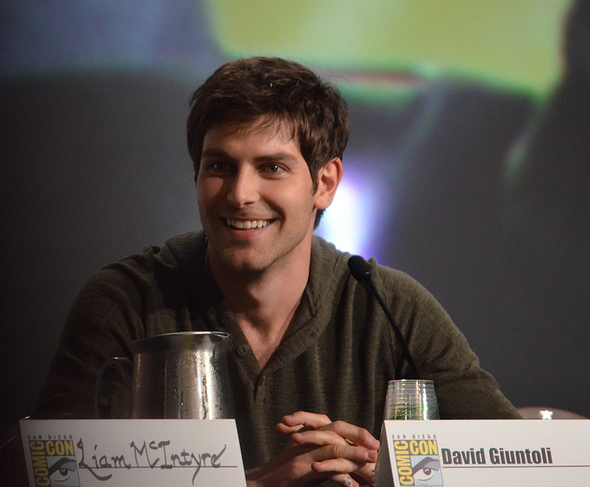 David Giuntoli  (photo credit: Genevieve Collins)