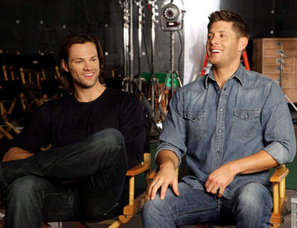 Jensen Ackles and Jared Padalecki (photo credit: Chris Frawley/Warner Bros. Entertainment Inc. )