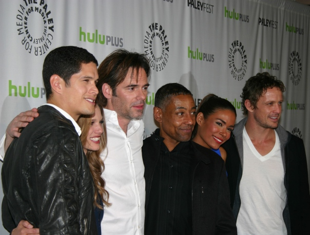 "Cast of ""Revolution"" photo credit: Jennifer Schadel)"