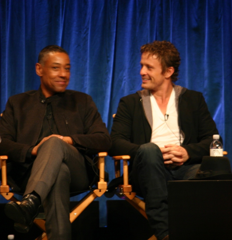 Giancarlo Esposito and David Lyons photo credit: Jennifer Schadel)