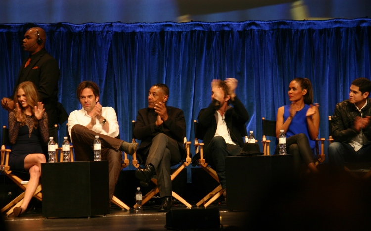 "Cast of ""Revolution"" photo credit: Jennifer Schadel)"