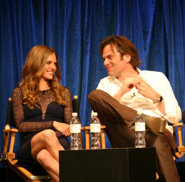 Tracy Spiridakos and Billy Burke photo credit: Jennifer Schadel)