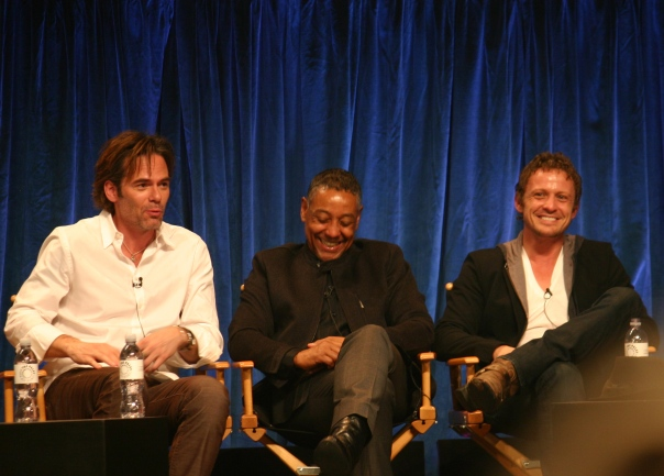 Billy Burke, Giancarlo Esposito, David Lyons photo credit: Jennifer Schadel)