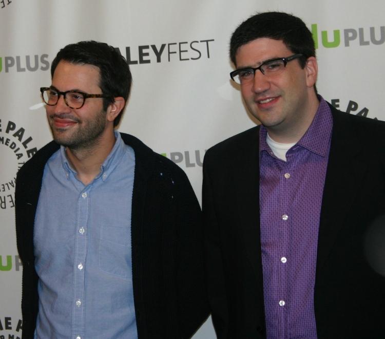 Eddy Kitsis and Adam Horowitz  (photo credit: Jennifer Schadel)