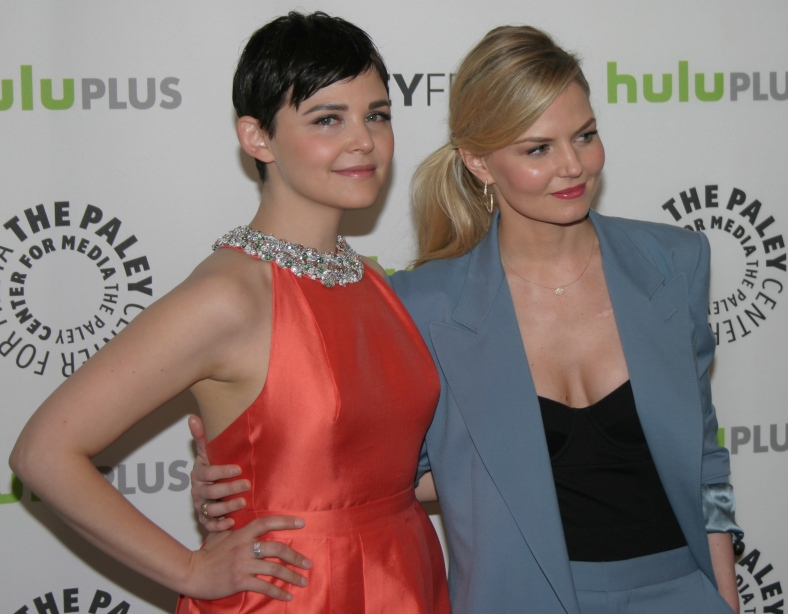 Ginnifer Goodwin and Jennifer Morrison  (photo credit: Jennifer Schadel)