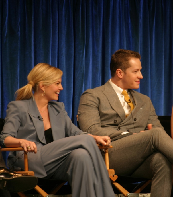 Jennifer Morrison and Josh Dallas  (photo credit: Jennifer Schadel)