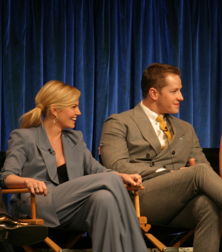 Jennifer Morrison and Josh Dallas  (photo credit: Jennifer Schadel)