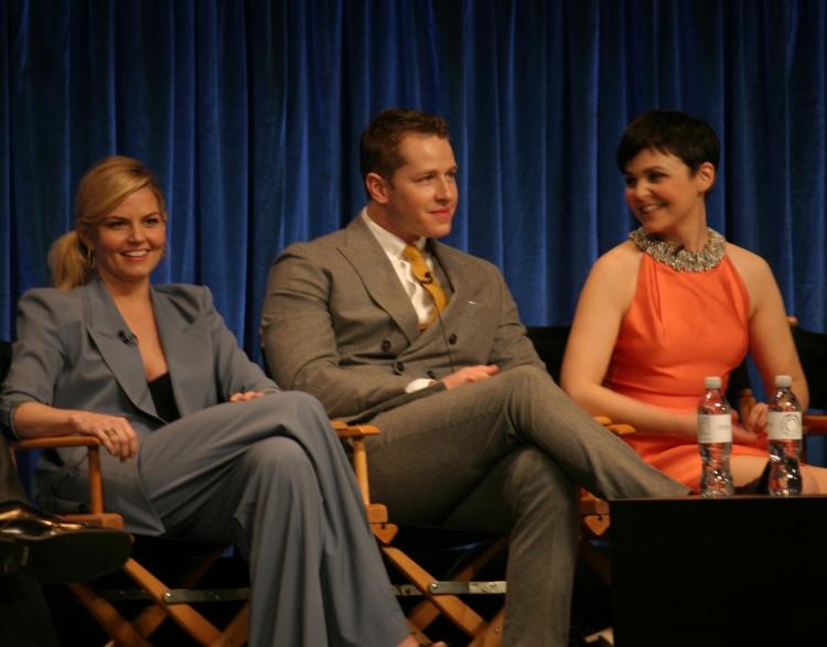 Jennifer Morrison, Josh Dallas and Ginnifer Goodwin  (photo credit: Jennifer Schadel)