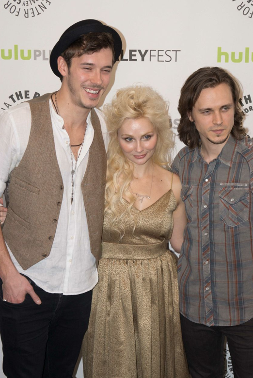 Sam Palladio, Clare Bowen, Jonathan Jackson (photo credit: Courtney Vaudreuil)