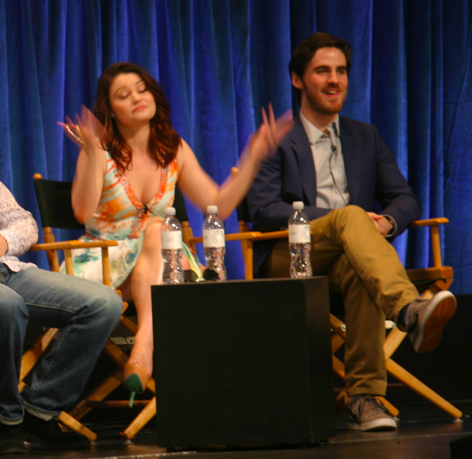Emilie de Ravin and Colin O'Donoghue (photo credit: Jennifer Schadel)