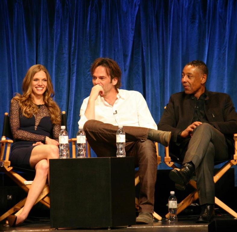 Tracy Spirdakos, Billy Burke, Giancarlo Esposito (photo credit: Jennifer Schadel)