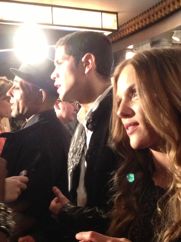 Giancarlo Esposito, JD Pardo, Tracy Spiridakos (photo credit: Tiffany Vogt)