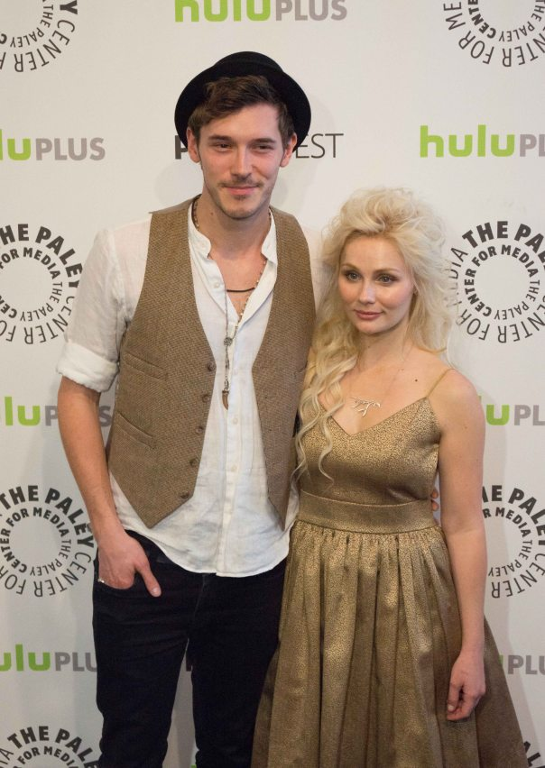 Sam Palladio and Clare Bowen (photo credit: Courtney Vaudreuil)