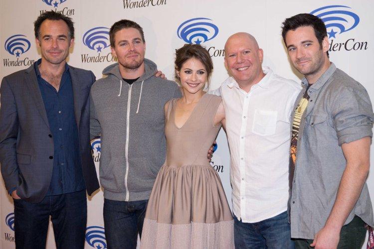 "Cast of ""Arrow""  (photo credit: Courtney Vaudreuil)"