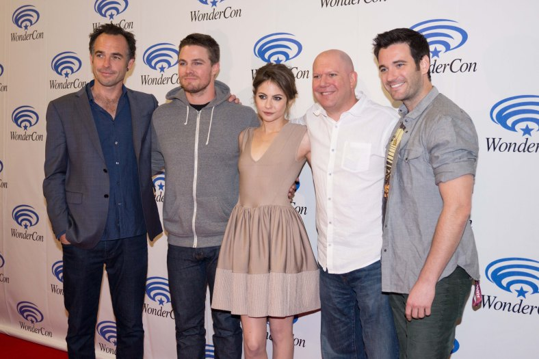 "Cast of ""Arrow"" (photo credit: Courtney Vaudreuil)"