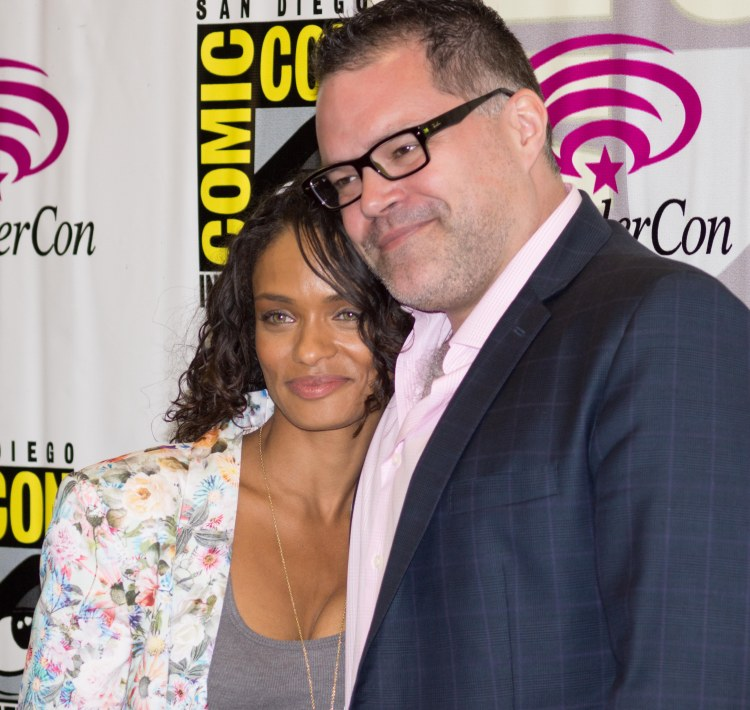 Kandyse McClure and Aaron Douglas (photo credit: Courtney Vaudreuil)
