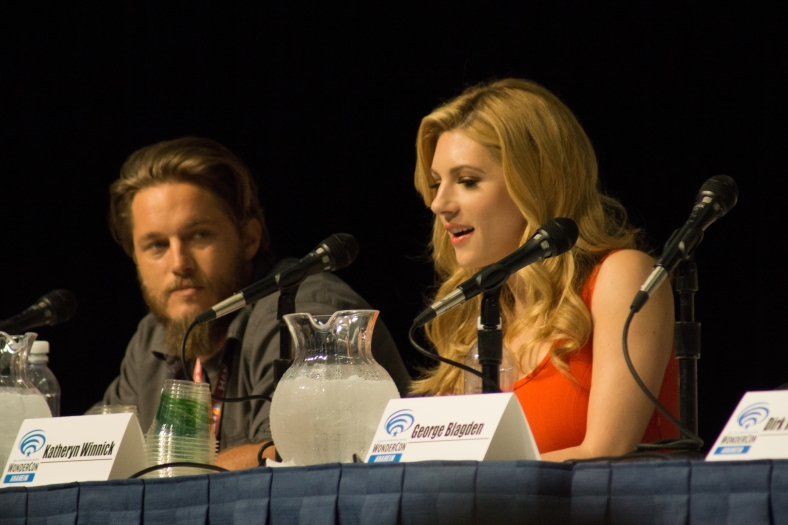 Travis Fimmel and Katheryn Winnick (photo credit: Courtney Vaudreuil)