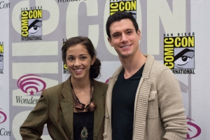 Seychelle Gabriel and Drew Roy (photo credit: Courtney Vaudreuil)