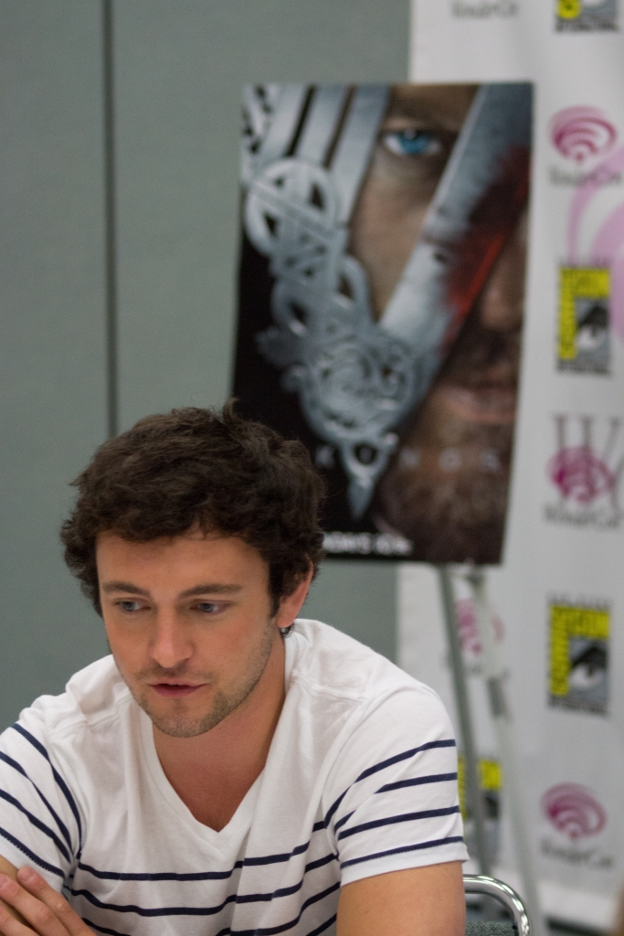 George Blagden  (photo credit: Courtney Vaudreuil)